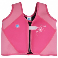 Splash About Learn To Swim Float Jacket Pink Blossom