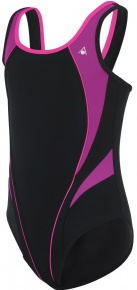 Aqua Sphere Elena Aqua First Girls Black/Dark Pink