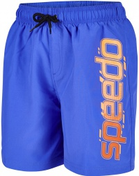 Speedo Boombastic Graphic Leisure 15 Watershort Blue/Orange