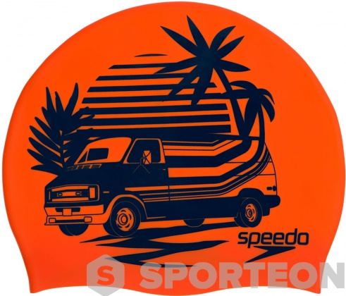Badekappe Speedo Slogan Print Cap