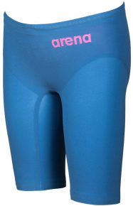 Arena Powerskin R-Evo One Jammer Junior Blue/Powder Pink