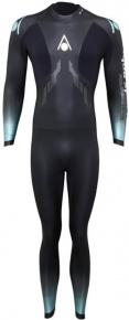 Aqua Sphere Aquaskin Fullsuit Men Black/Turquoise