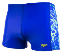 Speedo Cosmic Beats Allover Panel Aquashort Boy Ultrasonic/Fake Green