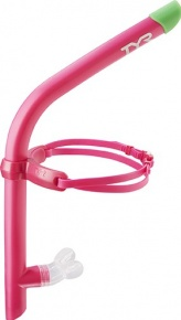 Schwimmen Schnorchel TYR Ultralight Snorkel Pink
