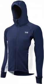 Tyr Male Victory Warm-Up Jacket Navy/White