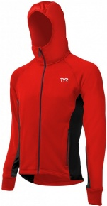 Tyr Male Victory Warm-Up Jacket Red/Black