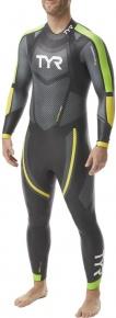 Tyr Hurricane Wetsuit Cat 5 Men Black/Green/Yellow