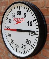 Swimaholic Round Cased Training Clock 700mm