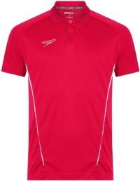 Speedo Dry Polo Shirt Red